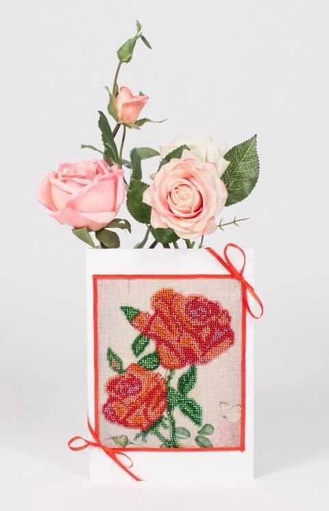 8307 Розовое утро - набор для вышивания (МП)