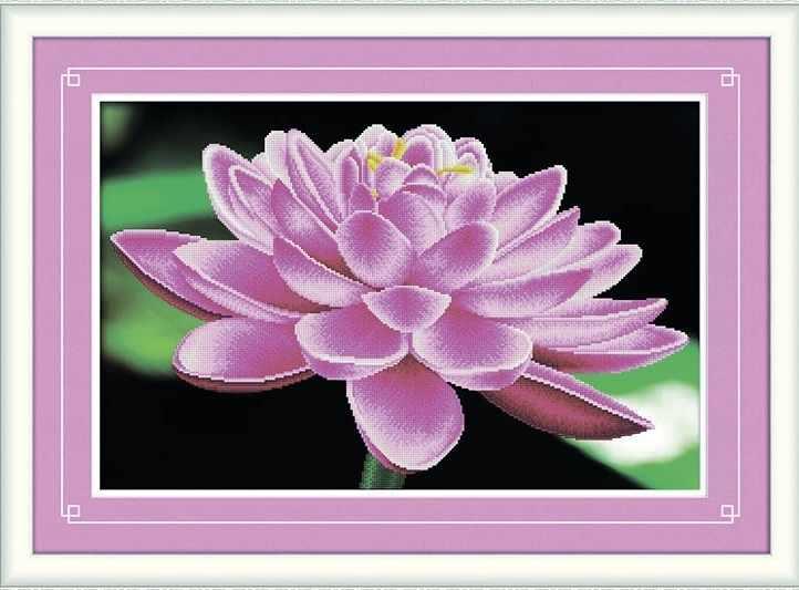 8408 Красивый цветок - мозаика Anya