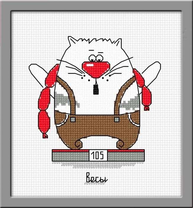 843 Кошачий гороскоп Весы (Овен)