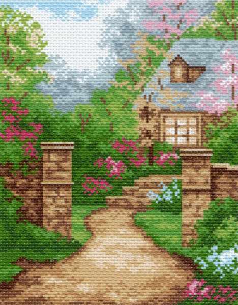 843 Дом в саду (МП)
