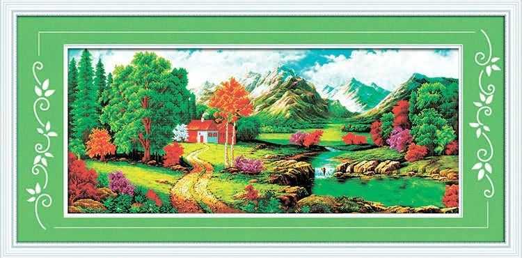 8457 Чудесная поляна - мозаика Anya