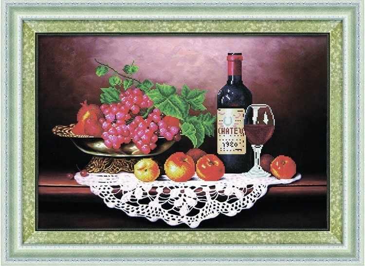 8471 Нат.рморт с фруктами - мозаика Anya
