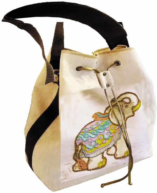 8512 Слон Ян - текстильная сумка (МП)