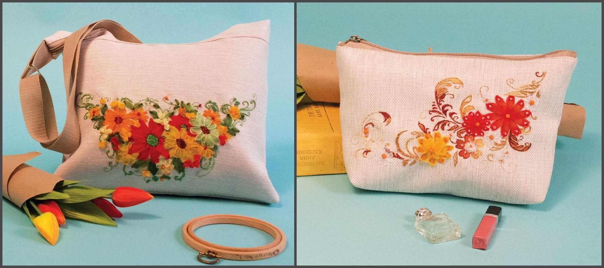 8515 Набор для шитья и вышивания - текстильная сумка набор (МП)