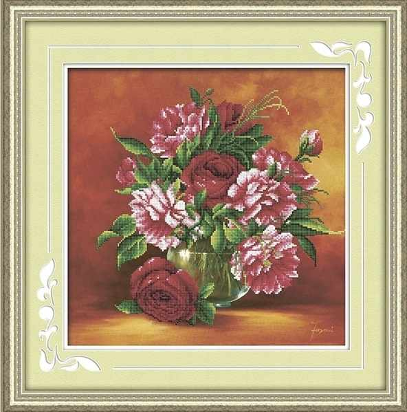 8522 Букет цветов - мозаика Anya