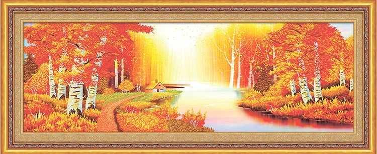 8572 Осень в лесу - мозаика Anya