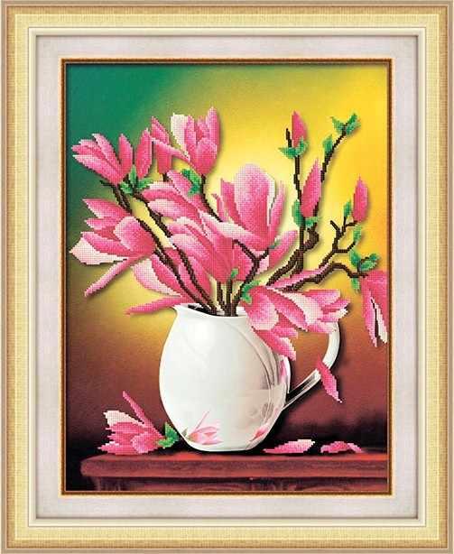 8588 Нежность цветов - мозаика Anya
