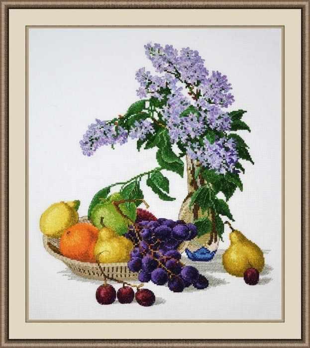 883 Сирень и фрукты (Овен)