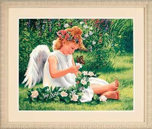 """91312 DMS """"Милый ангел"""" - раскраска"""