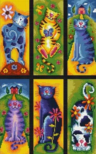 922-14 Коллекция кошек (Белоснежка)