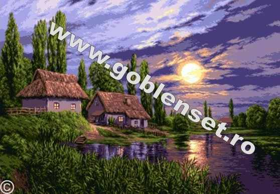 942 Пейзаж при полной луне