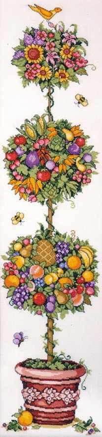 9627 Дерево счастья (Topiary) (Design Works)