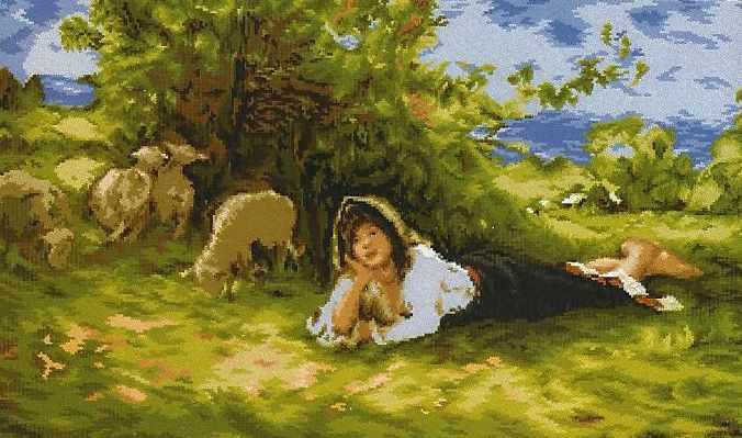 964 The Shepherdess