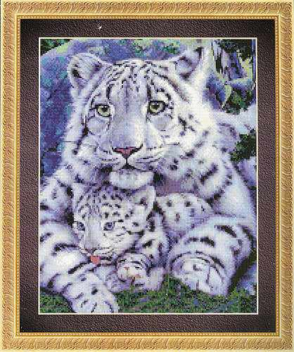99327 Леопард и Детеныш Kkrafts