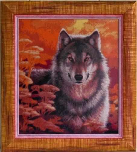 """99427 """"Волк на закате"""" Kkrafts"""