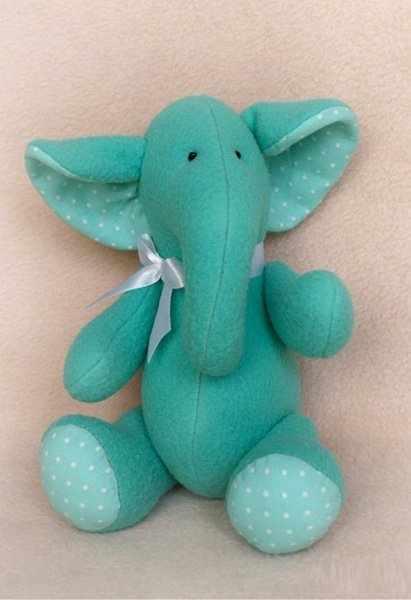 E001 Elephants story набор для изготовления игрушки