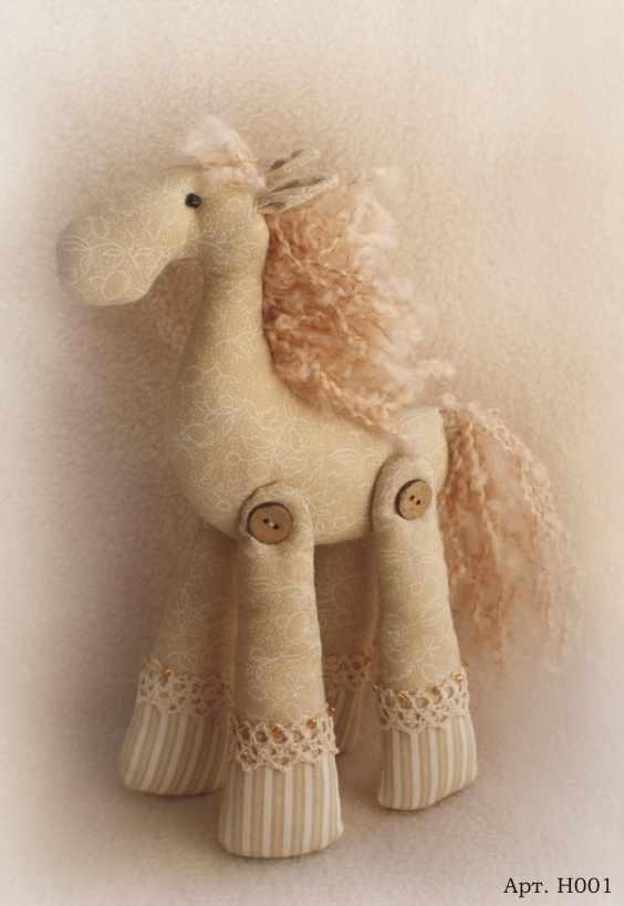 H001 Horses story набор для изготовления игрушки