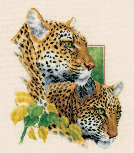 PN-0143772 Пара леопардов