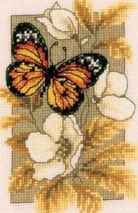 PN-0144770  Бабочка с оранжевыми крылышками