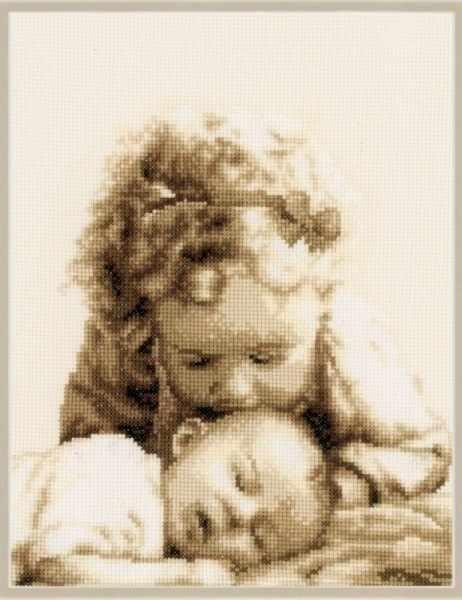 PN-0145087 Девочка и малыш