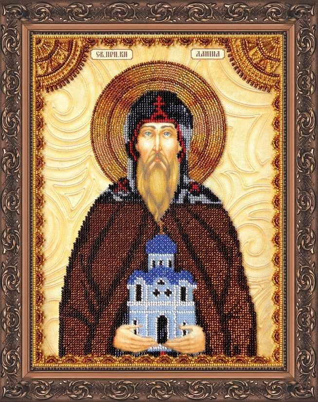 """АА-057 Набор для вышивания бисером икона """"Св. Даниил"""""""