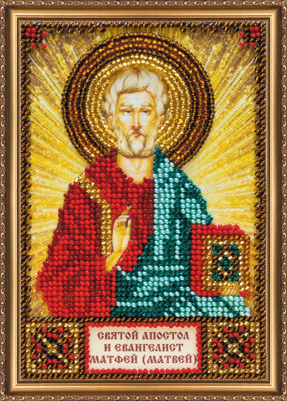 ААМ-134 Набор для вышивки бисером Святой Матфей (Матвей)