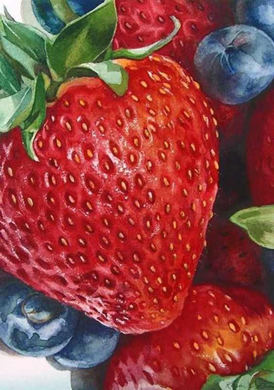 Ag4648 - Спелые ягоды - мозаика