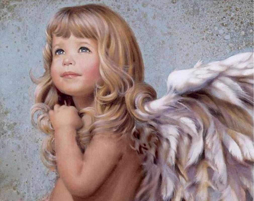 Ag529 - Чудесный ангел - мозаика