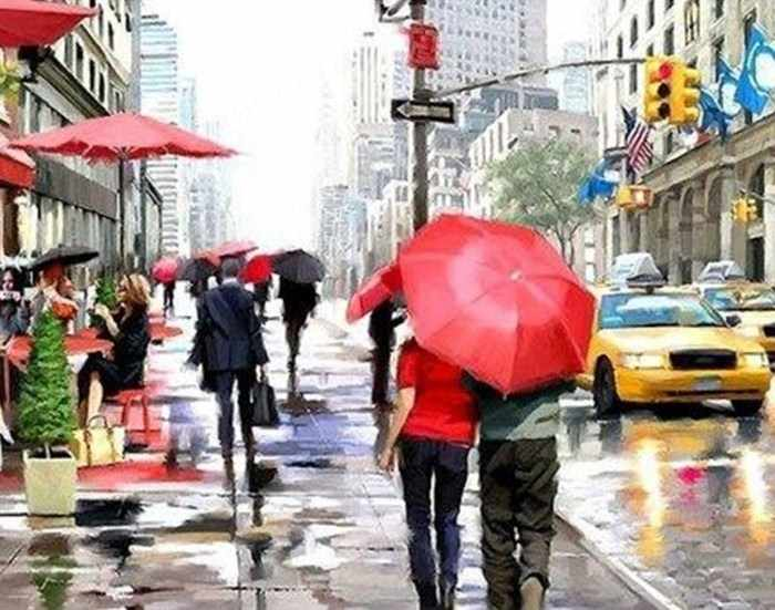 Ag847 - Нью-Йорк - мозаика