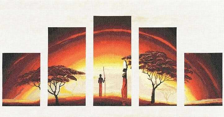 АИ-010 Идиллия заката.Африканские истории