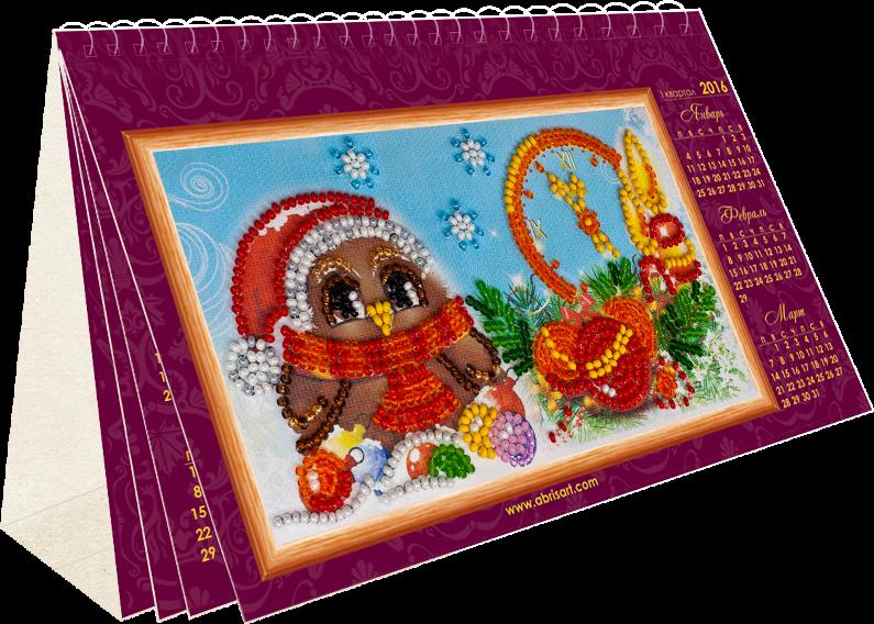 """АК-004 """"Совы"""" - набор-календарь"""