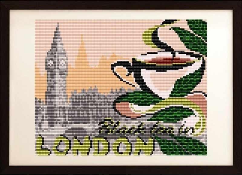 VKA4401 На черный чай в Лондон - схема (Art Solo)