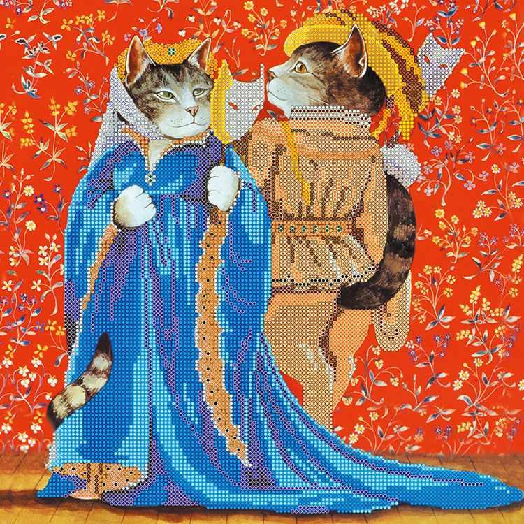 "АС-239 Схема ""Коты на маскараде"""