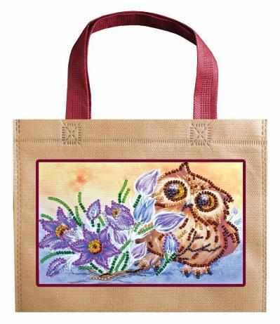 "АСА-003 Набор-сумка ""Сова и крокусы"""