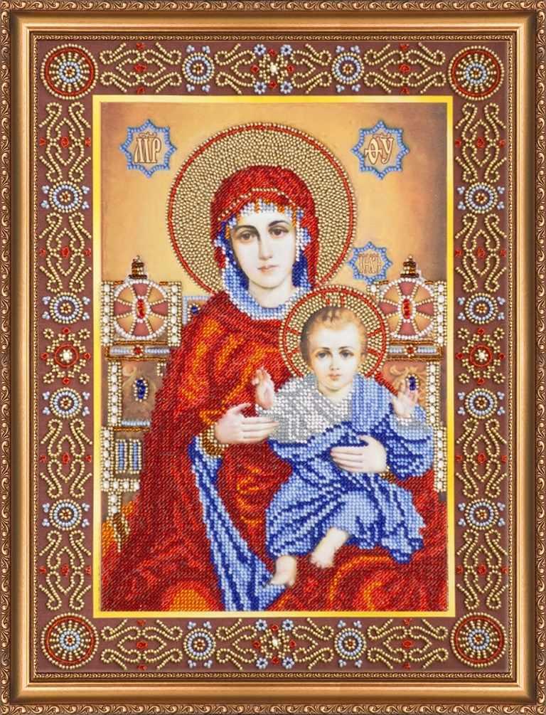"""АВ-145 """"Венчальная пара Богородица"""""""
