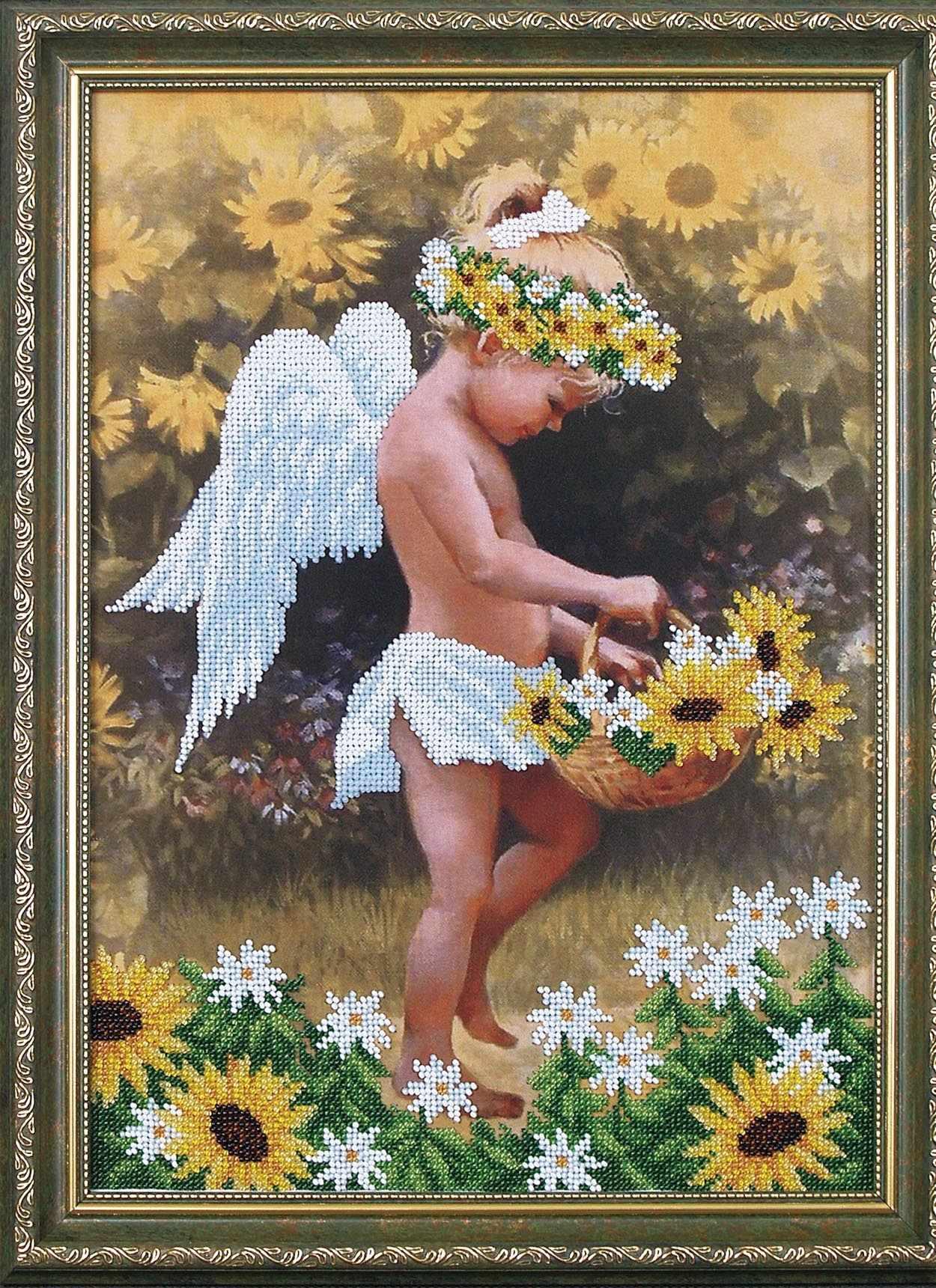 Б-017 Мой ангел -  Магия канвы
