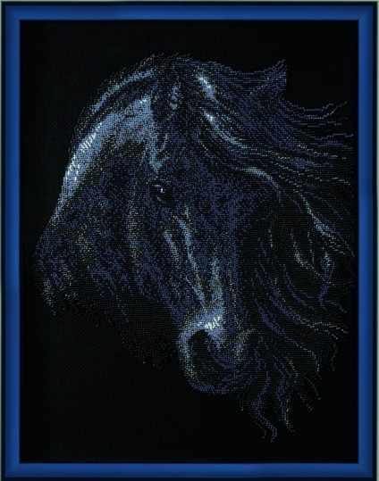 """Б-067 """"Черный конь"""" - чм"""