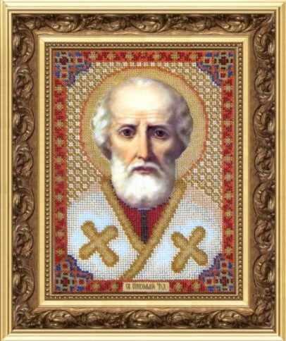 "Б-1001 ""Икона Св. Николая Чудотворца"" - чм"