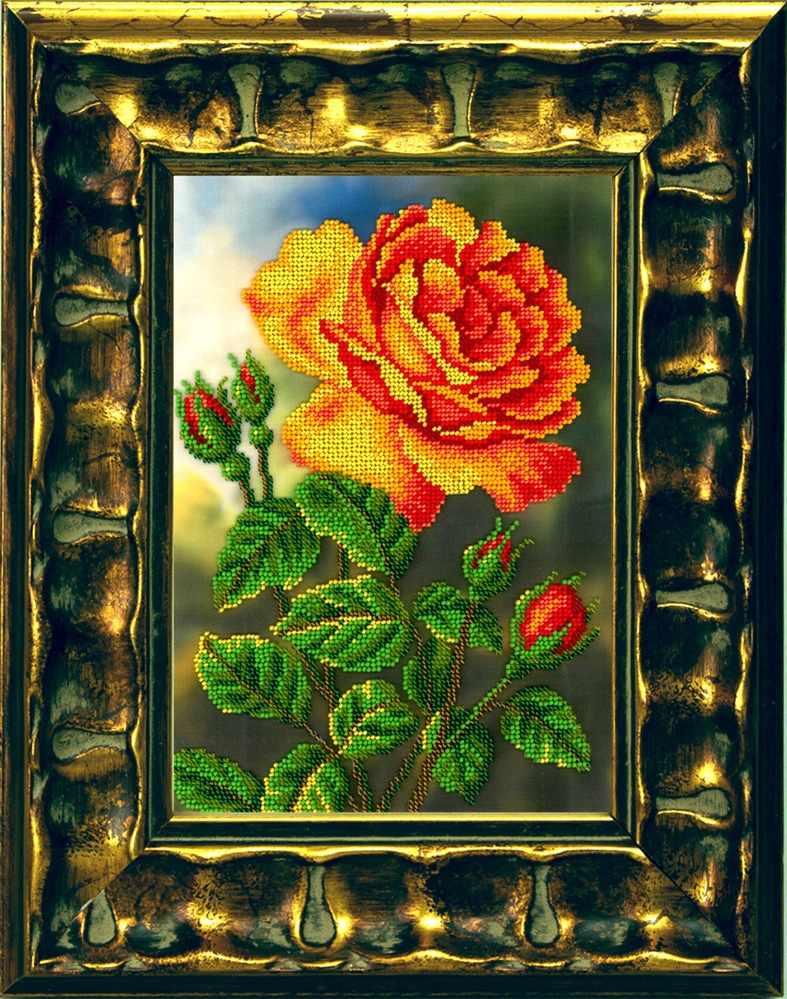 B-110 Цветущая роза