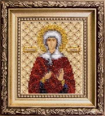 """Б-1121 """"Икона святой мученицы Галины"""" - чм"""