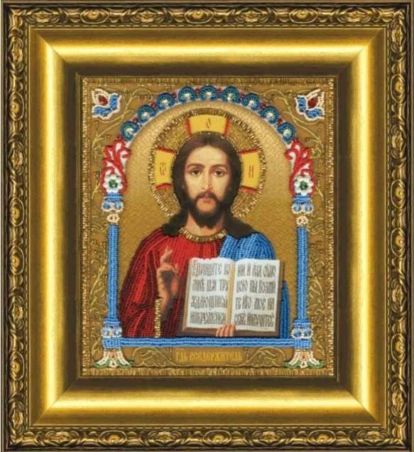 Б-1203 Икона Господа Вседержителя-чм