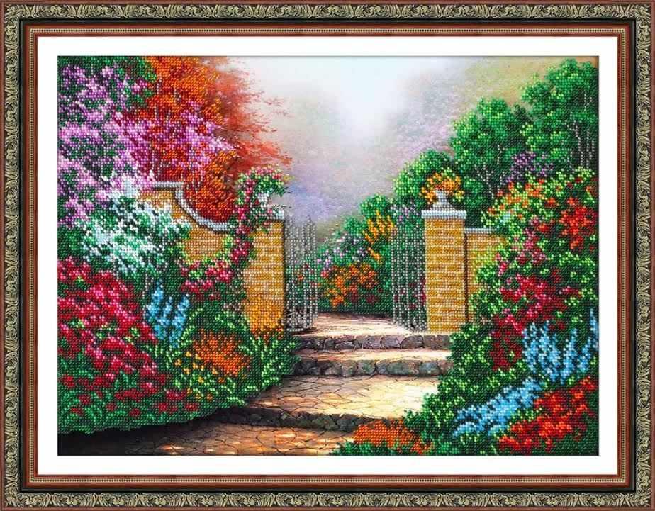 Б1447 Дорожка в сад  (Паутинка)