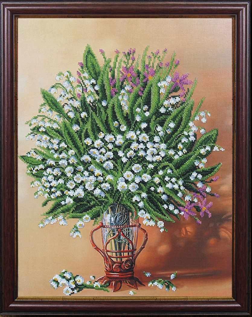 Б-229 Весенняя ваза - Магия канвы