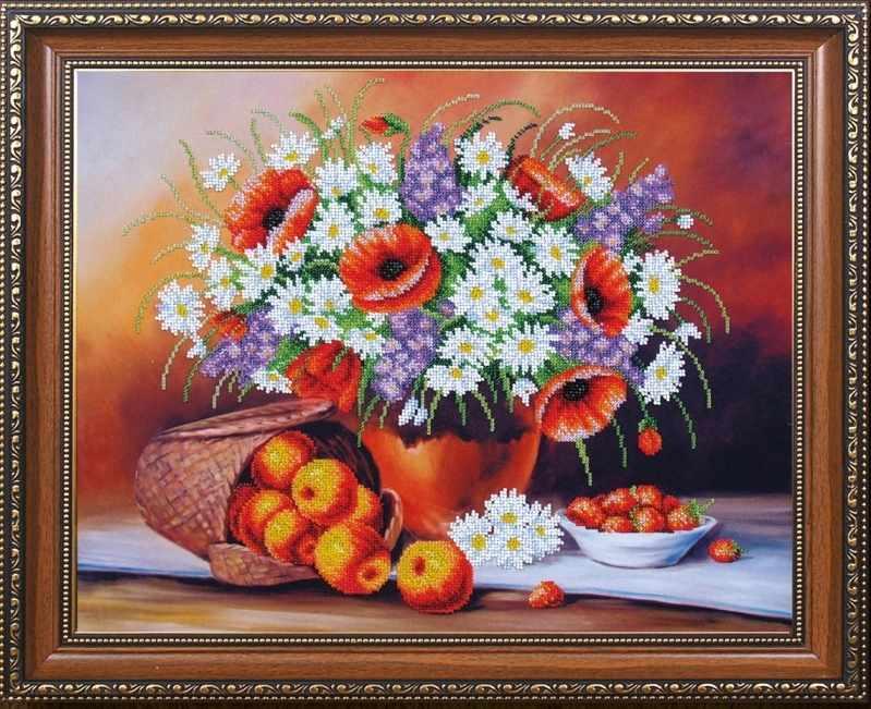 Б-289 Фруктово-цветочный пунш - Магия канвы