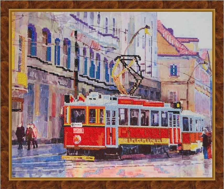 Б-3002 - Городской трамвай - схема (Алёшкина любовь)