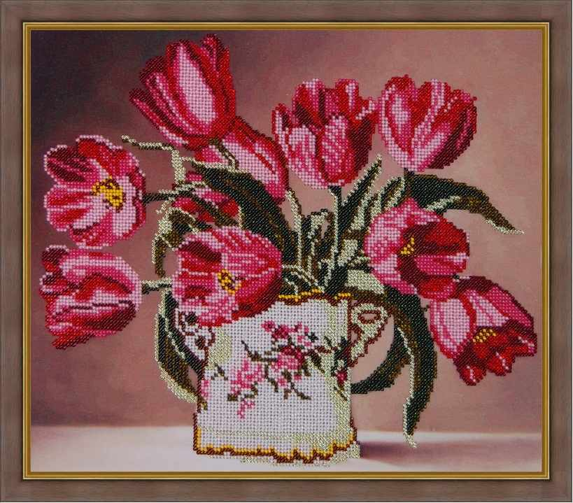 Б-3068 - Тюльпаны - схема (Алёшкина любовь)