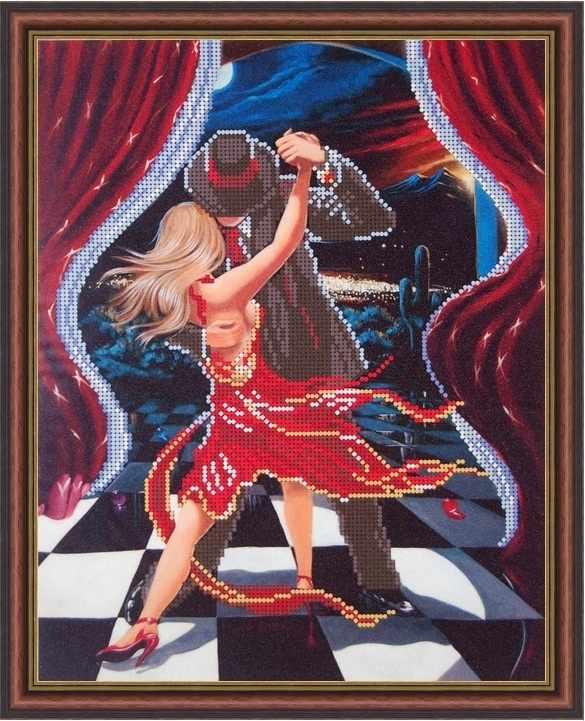 Б-3142 - Ночное танго - схема (Алёшкина любовь)