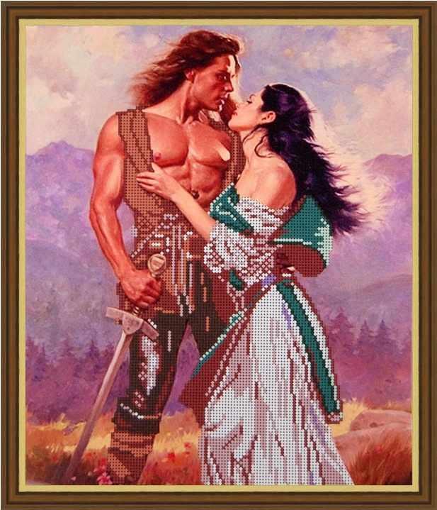 Б-3146 - Любовь воина - схема (Алёшкина любовь)