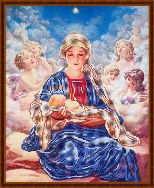 Б-3161 - Мария и ангелы - схема (Алёшкина любовь)
