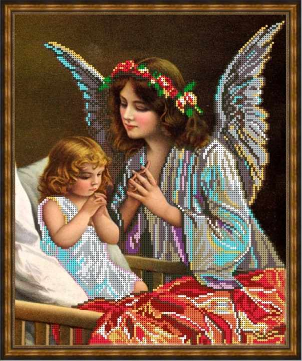 Б-3197 - Молитва перед сном - схема (Алёшкина любовь)